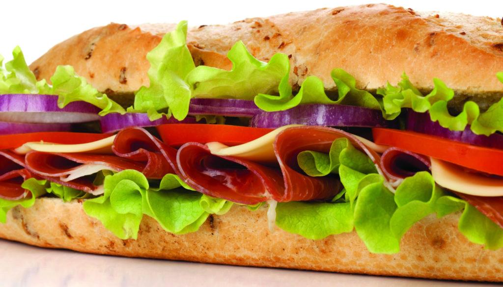 Sandwiches, Baguettes, Panini & Foccacia
